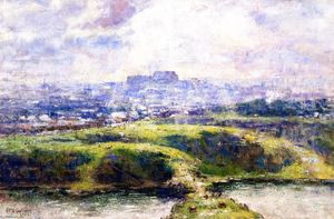 Frederick Mccubbin - Looking Towards Richmond Hill