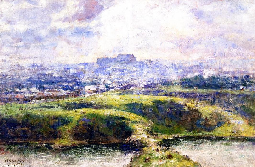 famous painting Looking Towards Richmond Hill of Frederick Mccubbin