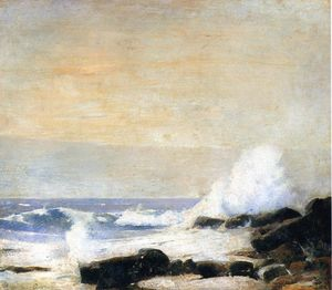 Soren Emil Carlsen - The Majestic Sea