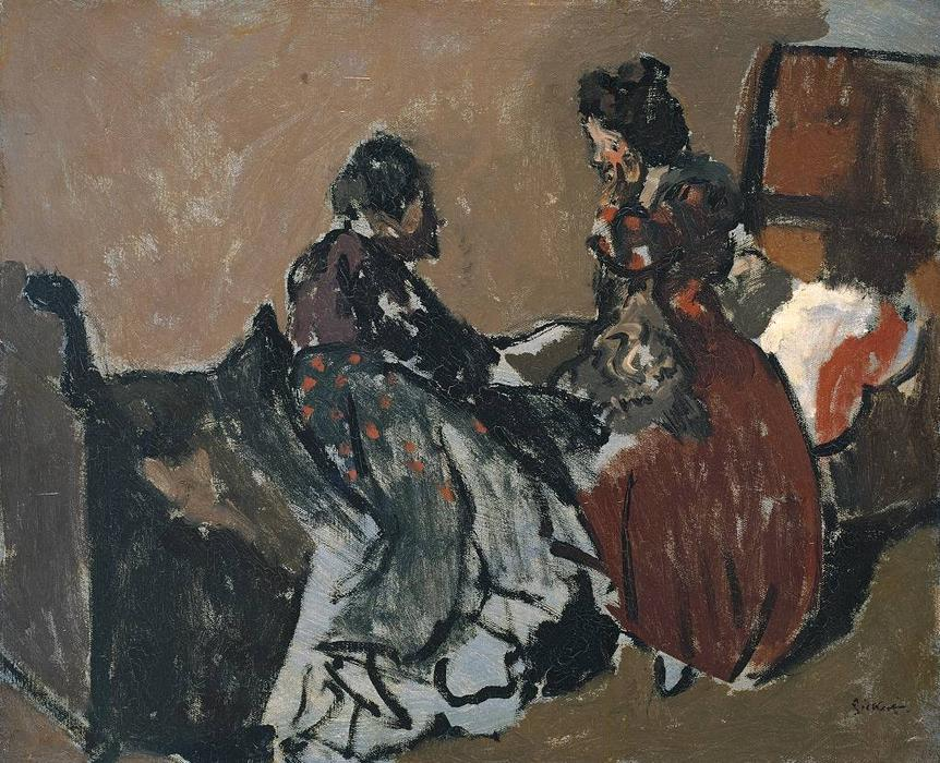 famous painting A Marengo of Walter Richard Sickert