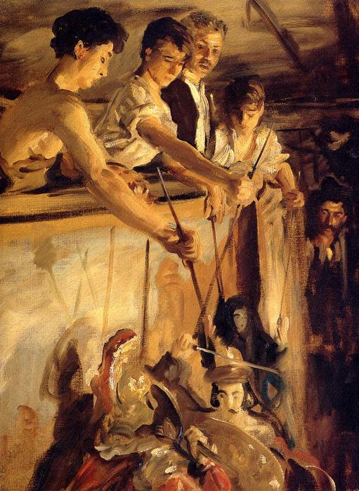 Order Museum Quality Copies Impressionism | Marionettes by John Singer Sargent | TopImpressionists.com