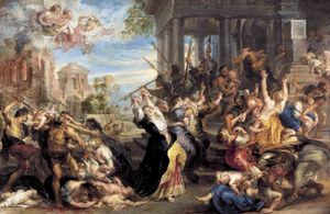 Peter Paul Rubens - Massacre of the Innocents