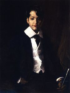 William Merritt Chase - Master Roland Dana Chase