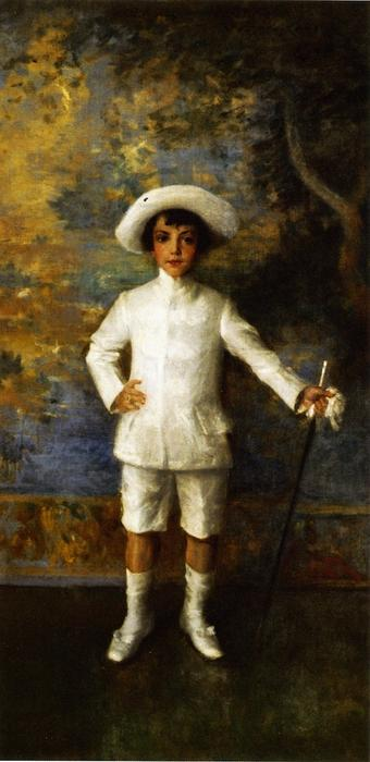 famous painting Master Roland Dana Chase of William Merritt Chase