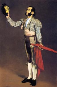 Edouard Manet - A Matador (also known as Matador Saluting)