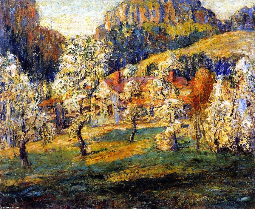 famous painting May in the Mountains of Ernest Lawson