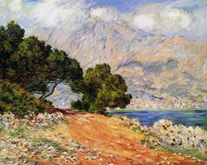 Claude Monet - Meton Seen from Cap Martin