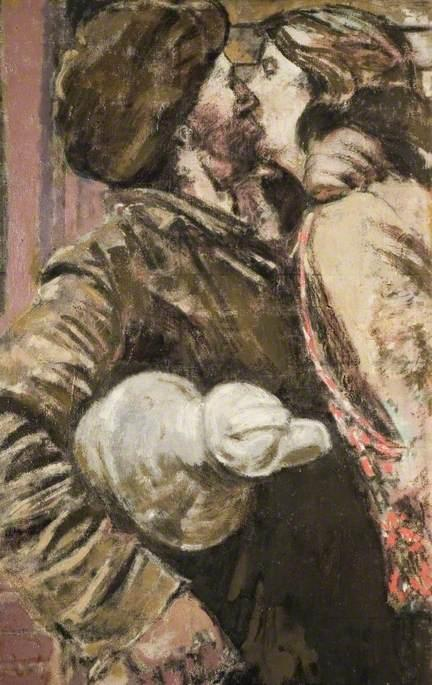 famous painting The Miner of Walter Richard Sickert