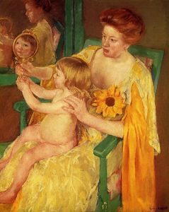 Mary Stevenson Cassatt - The Mirror