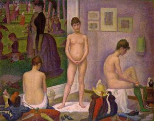 Georges Pierre Seurat - Models
