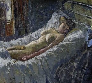 Walter Richard Sickert - Mornington Crescent Nude