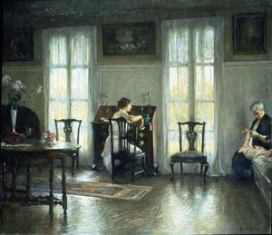 Edmund Charles Tarbell - Mother and Mary