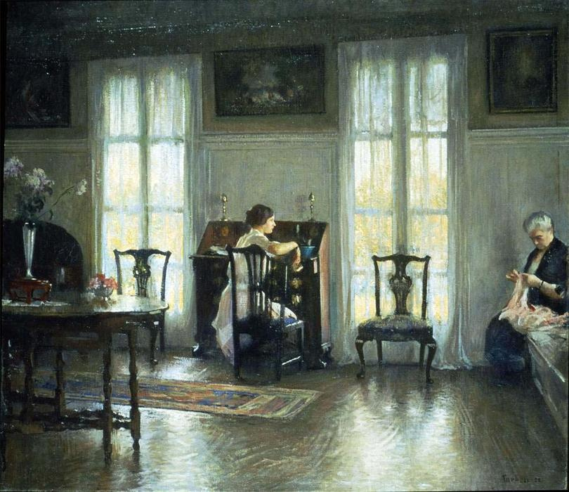 famous painting Mother and Mary of Edmund Charles Tarbell