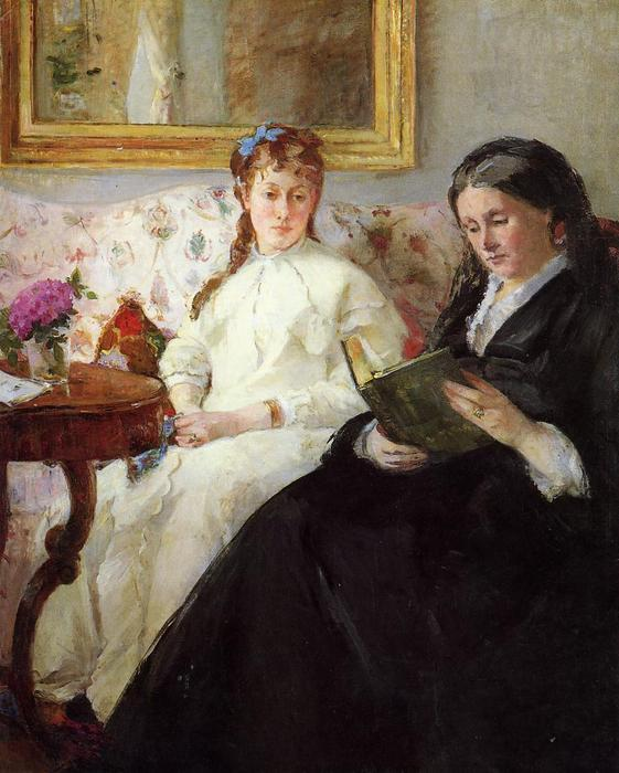 famous painting Mother and Sister of the Artist of Berthe Morisot
