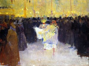 Charles Edward Conder - The Moulin Rouge