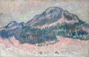 Claude Monet - Mount Kolsaas, Rose Reflection