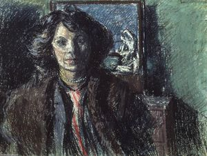 Walter Richard Sickert - Mrs Barrett