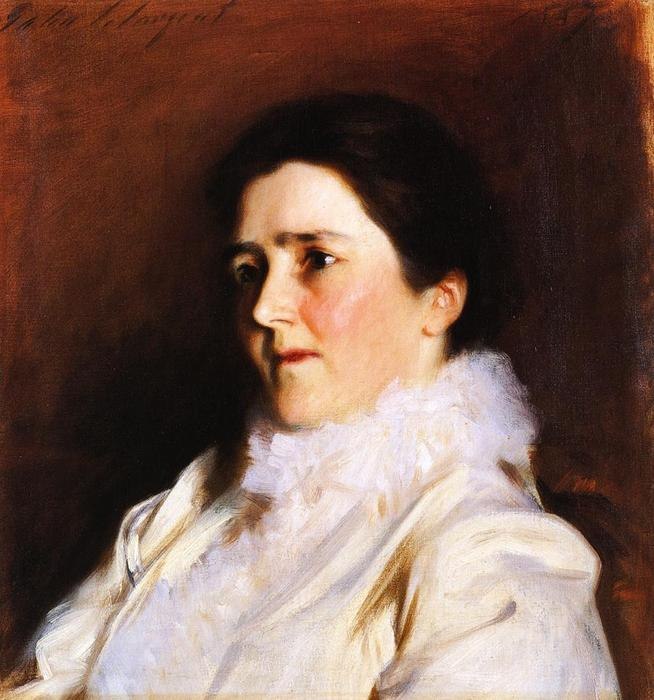 famous painting Mrs. Charles Fairchild of John Singer Sargent