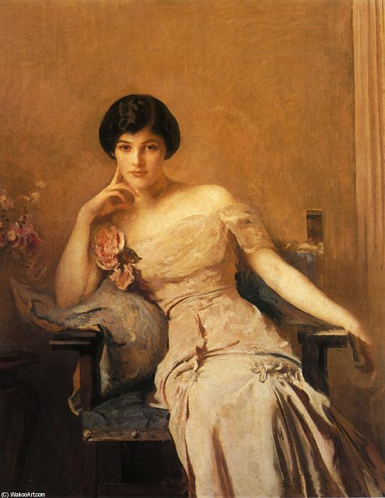 famous painting Mrs. John Lawrence of Edmund Charles Tarbell
