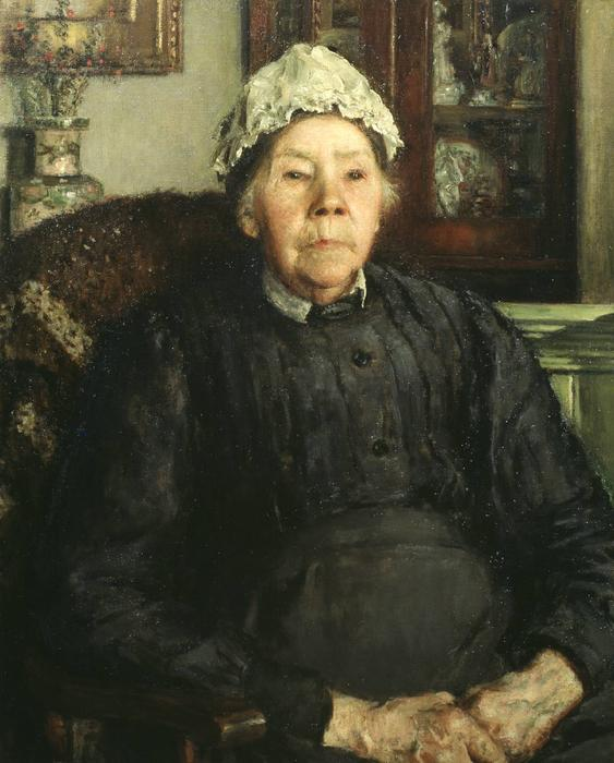 famous painting Mrs Raynes of Philip Wilson Steer