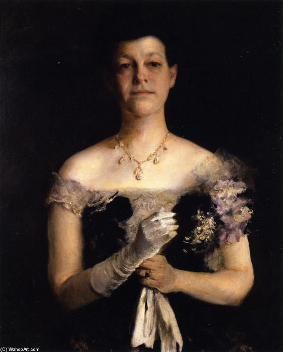 famous painting Mrs. Richard Y Cook of William Merritt Chase