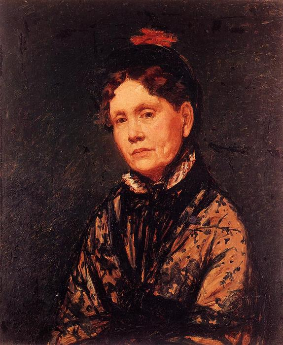 famous painting Mrs. Robert Simpson Cassatt of Mary Stevenson Cassatt