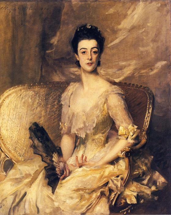 famous painting Mrs. Thomas Wodehouse Legh of John Singer Sargent