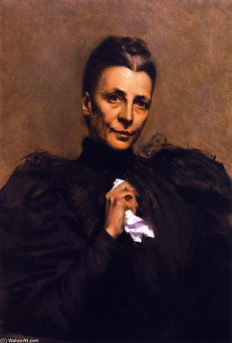 famous painting Mrs. Union Samuel Betts Lawrence of William Merritt Chase