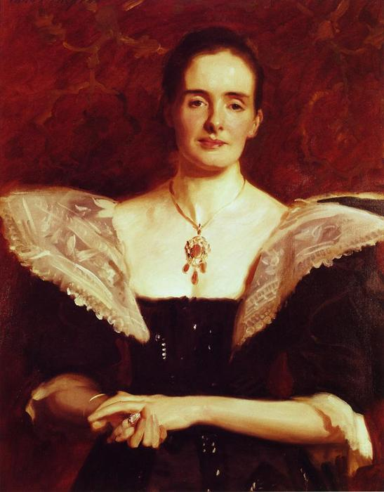 famous painting Mrs. William Russell Cooke of John Singer Sargent