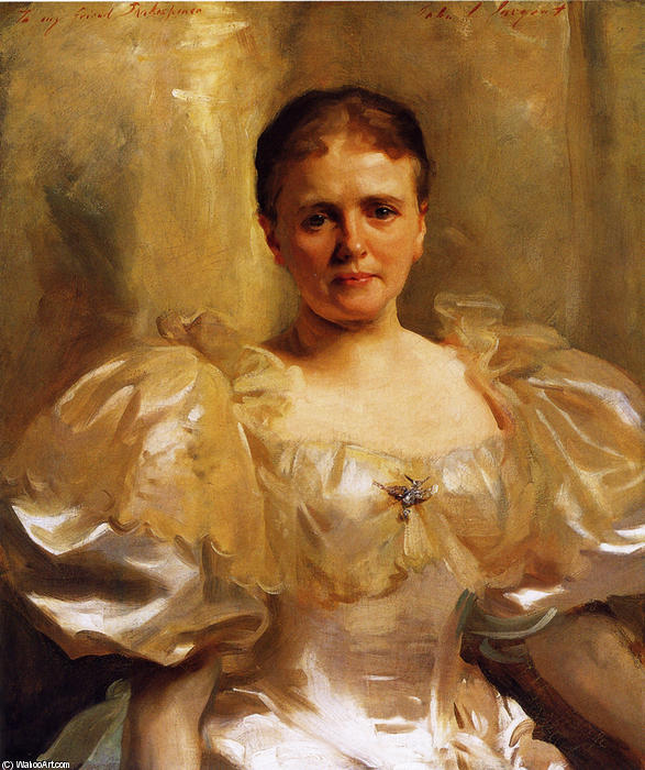 famous painting Mrs. William Shakespeare (Louise Weiland) of John Singer Sargent