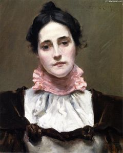 William Merritt Chase - Mrs. Wm. M. Chase
