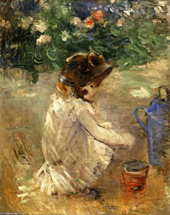 famous painting Mud Pie of Berthe Morisot