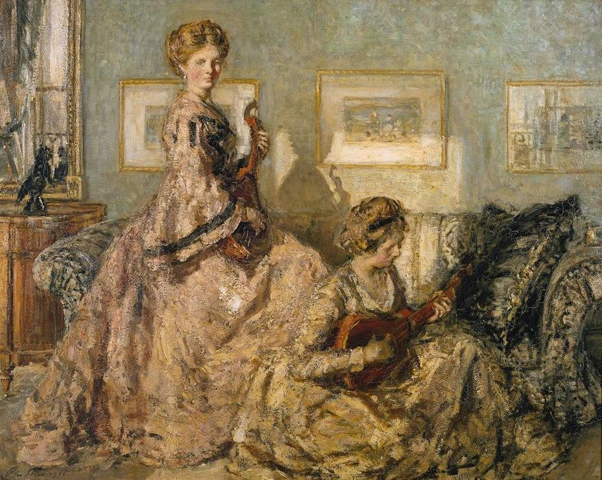 famous painting The Music Room of Philip Wilson Steer