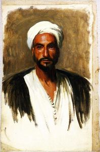 John Singer Sargent - Man with a White Turban