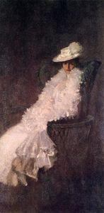William Merritt Chase - My Daughter Dieudonnee (also known as Alice Dieudonnee Chase)