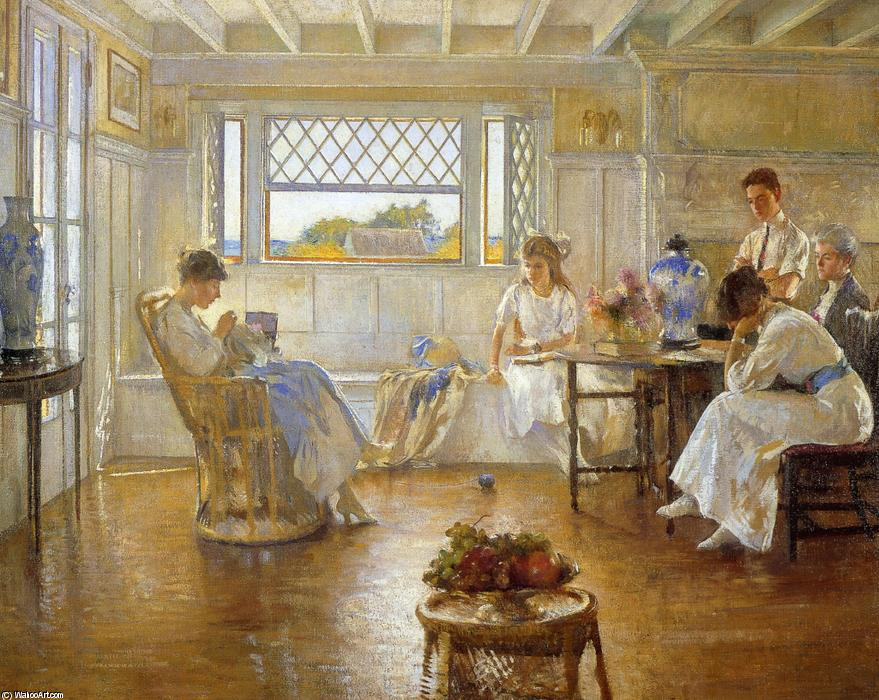 famous painting My Family of Edmund Charles Tarbell