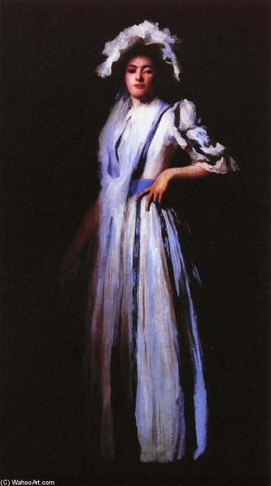 famous painting My Sister Lydia of Edmund Charles Tarbell