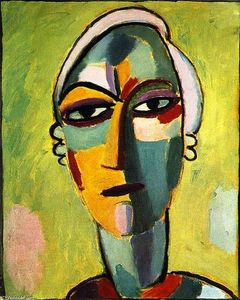 Alexej Georgewitsch Von Jawlensky - Mystical Head: Galka Fatum - Fate (also known as Fatum Mysterium)