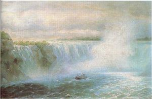Ivan Aivazovsky - The Niagara waterfall