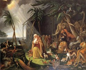 Charles Willson Peale - Noah and His Ark (after Charles Catton)