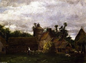 Julian Alden Weir - Normandy Farm