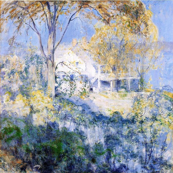 famous painting October of John Henry Twachtman
