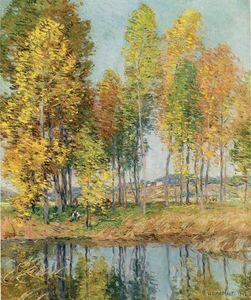 Willard Leroy Metcalf - October Morning