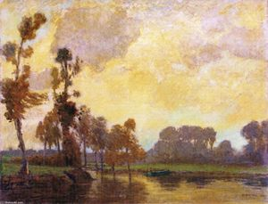 William Brymner - October, River Beaudet