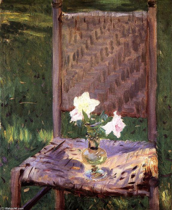 famous painting The Old Chair of John Singer Sargent