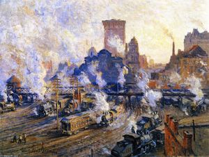 Colin Campbell Cooper - Old Grand Central Station