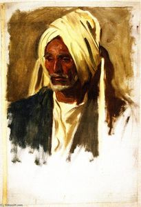 John Singer Sargent - Old Man with a White Beard