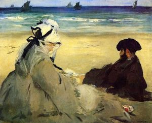 Edouard Manet - On the Beach