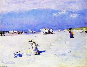 John Singer Sargent - On the Sands