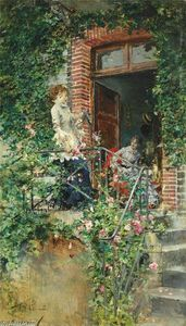 Giovanni Boldini - On the Terrace
